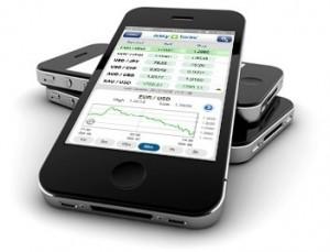 Die GKFX App erleichtert das mobile Trading.