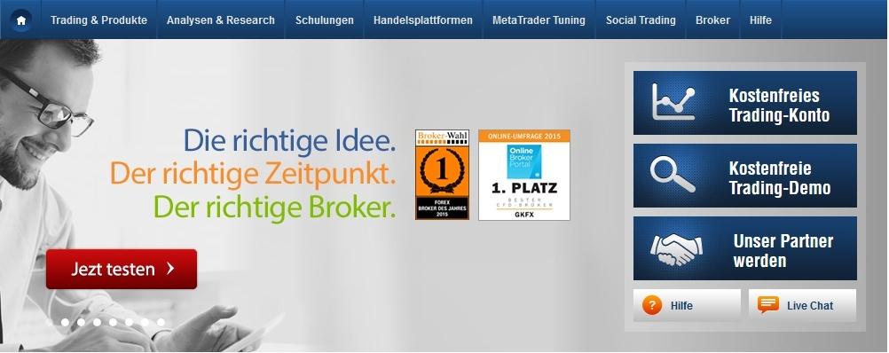 Bester forex cfd broker