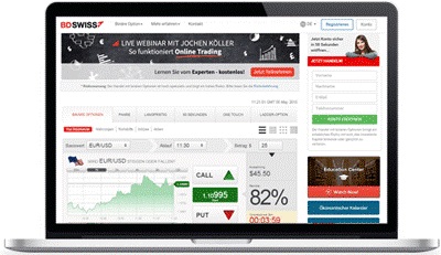 BDSwiss Plattform