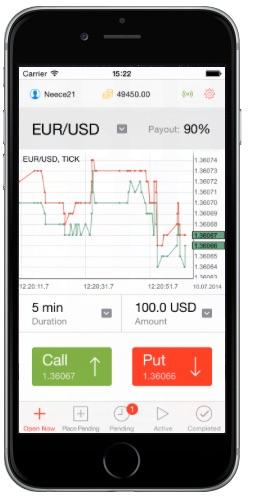 Kostenlose App für Apple iOS und Android