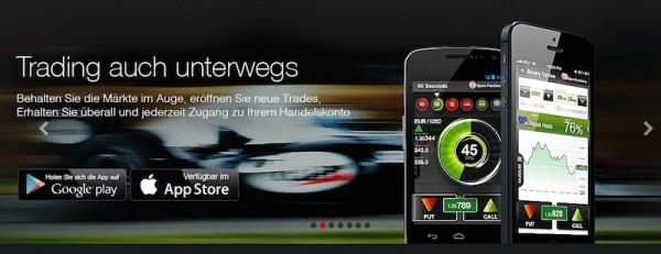 Kostenlose App für iOS und Android