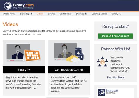 Das Weiterbildungsprogramm von Binary.com
