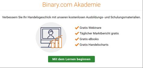 Die Akademie von Binary.com