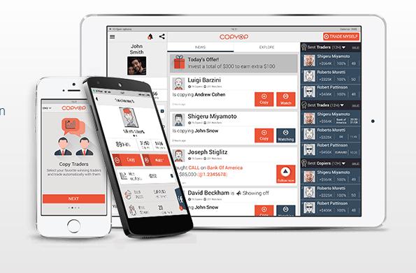 Leistungsstarke Apps bei Copyop