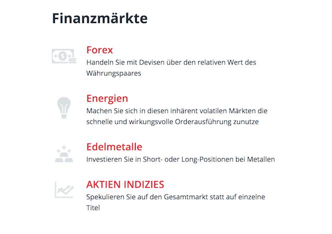 Orbex Finanzmärkte