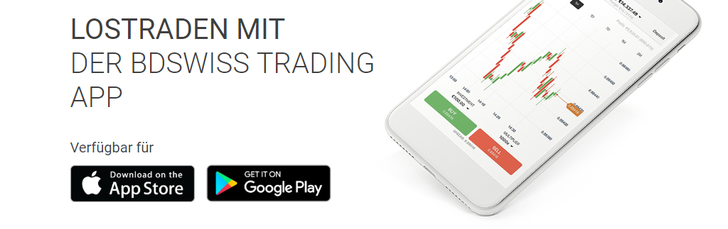 BDSwiss Trading App, BDSwiss mobile trading
